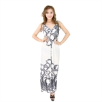H:oter® SweetyLady Exotic Volk Totem Silky Long Maxi Dress Summer Dress