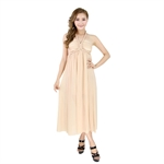 H:oter® SweetyLady Pure Color Chiffon Long Maxi Dress Summer Dress