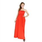 H:oter® SweetyLady Elegant Wrap Chest Evening Dress Long Maxi Dress Summer Dress