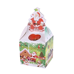 VENI MASEE® 20pcs Cardboard Santa Gift Boxes, Christmas Treat Boxes, Gift Ideas, NO.1004