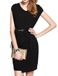 MOONBASA® Romantic Arts Elegant Office Ladys' One Piece Dress