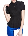 MOONBASA® Women Romantic Lace T Shirt - Black