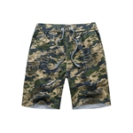 VENI MASEE® Men's Casual Cotton Beach Pants, Camouflage Printing Board Shorts