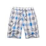 VENI MASEE® Men's Plaid Printed Beach Pants, Lightweight Board Shorts