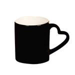 Discoloring Customized Mug Cup,Heart Hand Shank/Price for one piece