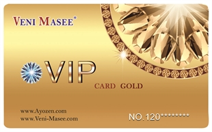 Glod Vip Discount Card /Price for one piece