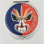 HOLI® Theatrical Mask Round Mirror Cosmetic Mirror Compact Mirror, Gift Idea, Gift Box Included