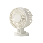 VENI MASEE USB Mini Fan Dual-Blades Mute Desktop Mini Fan Computer Office Quiet 2 Speeds(4 Inch)