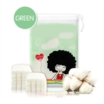 Gentle Natural Facial Cotton Puff 200pcs Sheet,100% cotton
