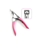 VENI MASEE® Pedicure Manicure Tool Acrylic False Nail Clipper Cutter - Pink