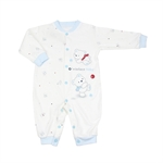 OWF Super Soft Unisex-Baby Newborn Footless Sleep N Play/Bodysuit/Rompers