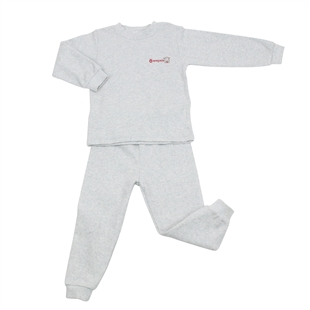 OWF Super Soft Unisex 2-piece Set Long Sleeve Shirt & Pants/Pajama/Nightclothes Set 101 Cotton