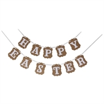 VENI MASEE® HAPPY EASTER New Easter Vintage Style Party Banner Bunting Decoration