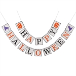 VENI MASEE® Happy Halloween Funny Pumpkin Background Decoration Bunting Flags