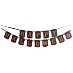 VENI MASEE® HAPPY HALLOWEEN Funny Background Decoration Bunting Flags