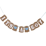 VENI MASEE® Baby Shower party Decoration Bunting Flags 3 Styles