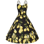 VENIMASEE®  Women Sexy 50s Swing Vintage Retro Housewife Rockabilly Evening Party Dress