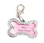 PuppyDog Fashion Bone-shaped Pink Pendant Perfect For Name Card & Photo, Pet Supplies, Beauty requisites For Outdoor Activities, Christmas Gift, Price/Piece
