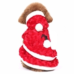PuppyDog Soft Christmas Red Party Coat, Pet Supplies, Christmas Gift, Price/Piece