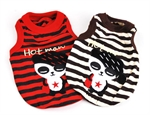 Hoter® Pet Cool Graffiti Horizontal Stripes Vest, Colors & Sizes Available, Price/Piece