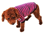 Hoter® Pet Casual Style Horizontal Stripes Polo Shirt, Colors & Sizes Available, Price/Piece