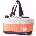 Hoter® Mix-Colors Soft Pet Carrier Bag--Orange/Green, 55cm Long * 17cm Wide * 26cm High