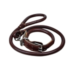 VENI MASEE Artificial Leather Pet Dog Large dogs Rope Training Leash Adjustable Loop Slip Leash Rope, Pet Supplies, Price/Piece