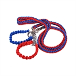 VENI MASEE Nylon Pet Dog Rope Hand Knitting Collar Large Dogs Training Leash Adjustable Loop Slip Leash Rope, Pet Supplies, Price/Piece