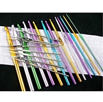 22 Pack Of High Quality Aluminum Crochet Hooks 1mm-10mm
