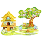 Hoter 3D Building Puzzles, Puzzles For Kids, Type In Cartoon Paradise, PCS/Price