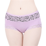 VENI MASEE® Modal Sexy Lace High Waist Large Size Belly Slim Hip Raise Women Brief Underwear