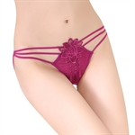 VENI MASEE® Lotus Sexy Women Lace Fascinated Thongs Women Underwear