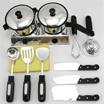 Children's Cooking Utensils Set, 12 Piece