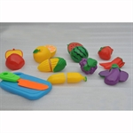 Kid's heaven - Pretend and Play Sliceable Fruit and Vegetable Set