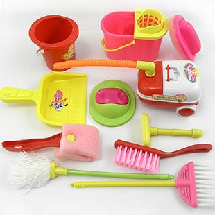 Kid's heaven - Pretend and Play Cleaning Set, 9 Piece