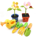 Children's Gardening Set with Flowers and Tools