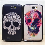 HOTER® MCASE  Personality Skeleton Painting Samsung Galaxy Note 2 II N7100 N7108 Protective Case - Black