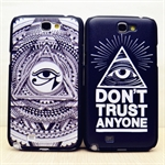 HOTER® MCASE  Personality Eye Painting Samsung Galaxy Note 2 II N7100 N7108 Protective Case - Grey