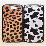 HOTER® MCASE  Personality Painting Samsung Galaxy Note 2 II N7100 N7108 Protective Case - Leopard