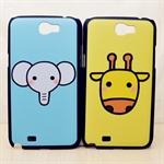 HOTER® MCASE  Cute Carton Painting Samsung Galaxy Note 2 II N7100 N7108 Protective Case - Elephant