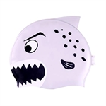 Lovely Kids Top Quality Shark Swimming Cap (Grey/Pink/Blue), Price/Piece