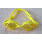 Kids Fins-shaped Anti-fog Swimming Goggle (Pink/Purple/Yellow/Yellow+Black), Price/Piece