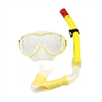 VENI MASEE HydroSneak Fashion Swimming Mask & Snorkel Set