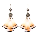 HOTER Bohemian Fashionable Earrings Tassel/Two Circles/Feather