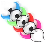 H:OTER Cute LED Oxhorn Halloween Christmas Party Bar Headhand, Hair Band