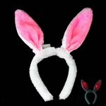 H:OTER Rabbit LED Halloween Christmas Party Cosplay Hairband Headband