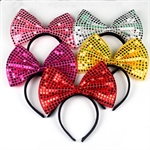 H:OTER Lovely Bowknot Halloween Christmas Party Cosplay Hairband Headband