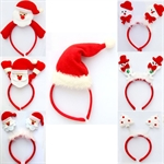 H:OTER Christmas Decoration Santa Claus Headhand