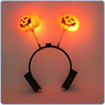 H:OTER Halloween Decoration LED Pumpkin Headhand