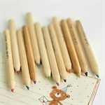 Sweet Girl Style 12 Colors one set Cute & Practical Colorized Small Pencil/Drawing Pen